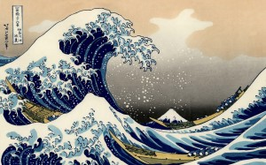 Hokusai's Great Wave off Kanegawa
