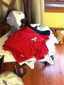 Uhura Cosplay Progress Pic