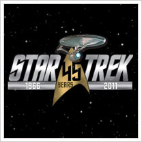 Star Trek 45th Logo